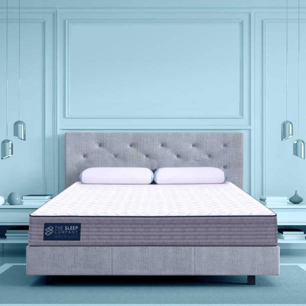 The Sleep Company SmartGRID Luxe 8 inch Queen High Density (HD) Foam Mattress