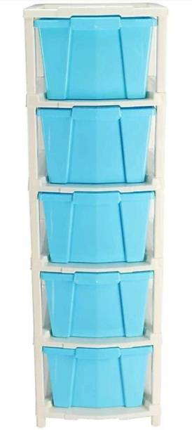 Flipkart Perfect Homes Studio Plastic Free Standing Chest of Drawers