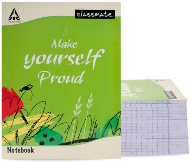 Classmate Notebook Regular Notebook Single Line 120 Pages