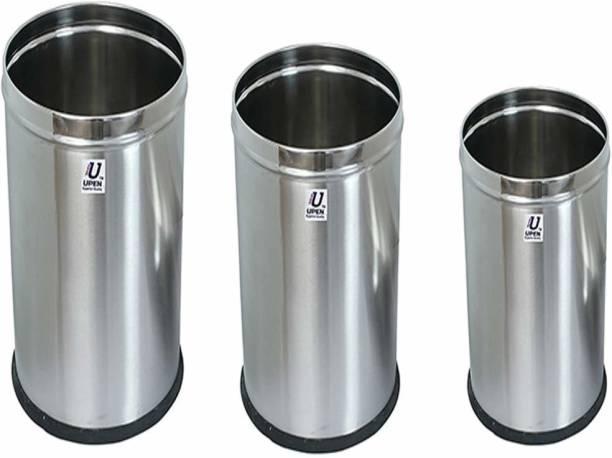 Upen Stainless Steel Dustbin