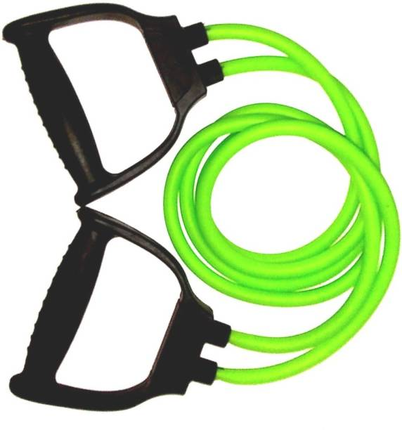 MultiFastO ShopHub Double Resistance Band, Toning Tube with D Handle Resistance Band