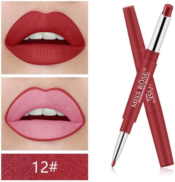 MISS ROSE Legendary Double Head Lipstick Matte Lipstick (12)