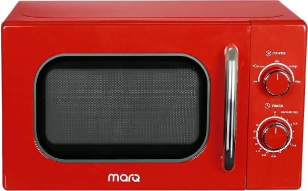 MarQ By Flipkart 20 L Retro Solo Microwave Oven