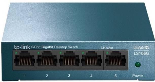 TP-Link LS105G 5-Port 10/100/1000Mbps Network Desktop Switch