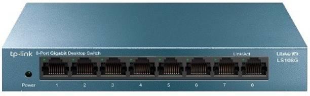 TP-Link LS108G 8-Port 10/100/1000Mbps Network Desktop Switch
