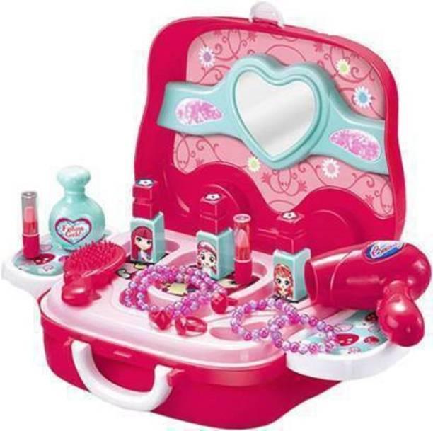 Toyporium Kids Makeup Kit Pretend Play Cosmetic Set For Girls