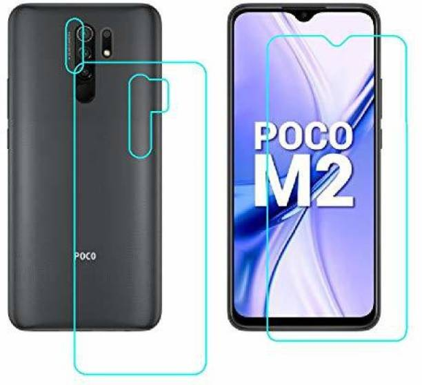 PR SMART Front and Back Tempered Glass for Poco M2