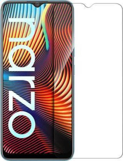Naitikul Impossible Screen Guard for Gorilla Original Edge To ERealme Narzo 20, Realme Narzo 20A, Realme C11, Realme C12, Realme C15, Realme C3, Realme 5, Realme 5i, Realme 5s, Oppo A9 2020, Oppo A5 2020, Realme Narzo 10, Realme Narzo 10A, Oppo A31 Gorilla Hammer Proof flexible fiber unbreakable 9H hardness Screen Protector [Better then Tempered Glass]