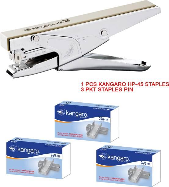 Kangaro Manual 24-6 ROUND EDGE Staplers