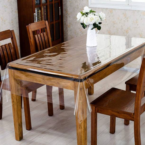 KUBER INDUSTRIES Self Design 6 Seater Table Cover