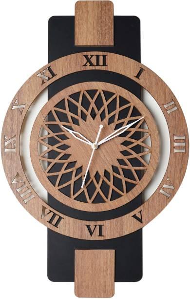 SINGH BROTHERS Analog 48 cm X 30 cm Wall Clock