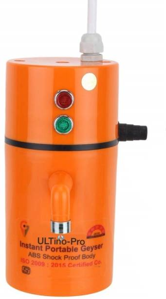 UltinoPro 75 L Instant Water Geyser (ULTino-Pro (Indias) Instant Electric Water Geyser    ABS Body- Shock Proof    Electric Saving   24 year replacement Warranty (Orange), Orange)