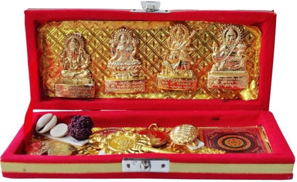 Shubhanjali Shri Dhan Laxmi Kuber Bhandari Yantra,Sri Dhan Laxmi Kuber Bhandari Yantra,Sarv Samridhi Sarv Dosh Nivaran Sampoorna Dhan Bhandari Pooja,Diwali,Gifts Plated Yantra