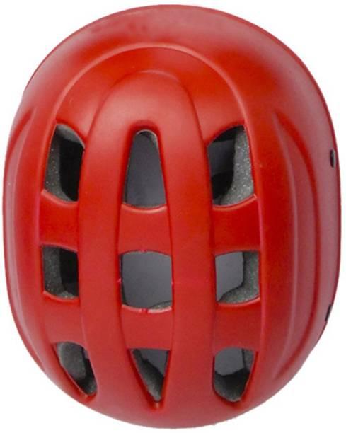 diego Sports Multipurpose Helmet For Skating /Cycling Adjustable Straps Helmet -Red Cycling Helmet