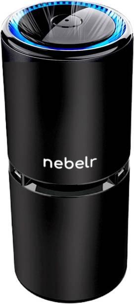 Nebelr Car Air Purifier Ionizer -10 Million Negative Ions - Kills 99.9% Viruses - Removes PM2.5 & Dust - Designed in Japan Portable Car Air Purifier