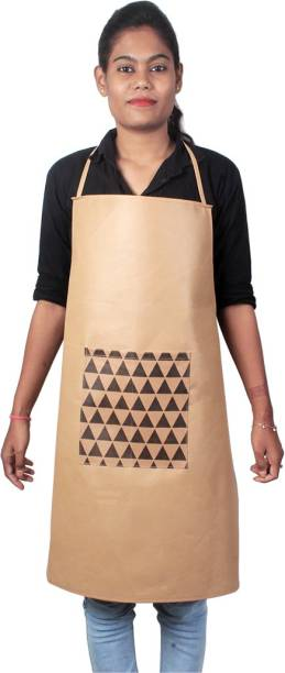 PrettyKrafts Blended Home Use Apron - Free Size