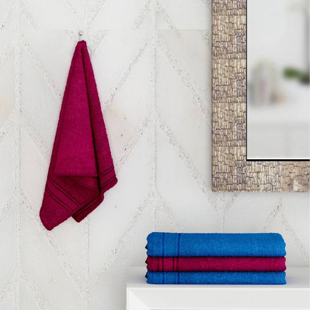 Flipkart SmartBuy Cotton 370 GSM Hand Towel Set
