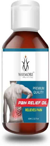 WAYMORE Pain Relief Oil For Back, Elbow, Knee, Leg, Joints, Neck 60ml Liquid