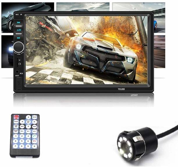 Auto Snap ASAP_7 Inch Double Din Music Video HD Video Player Black LCD