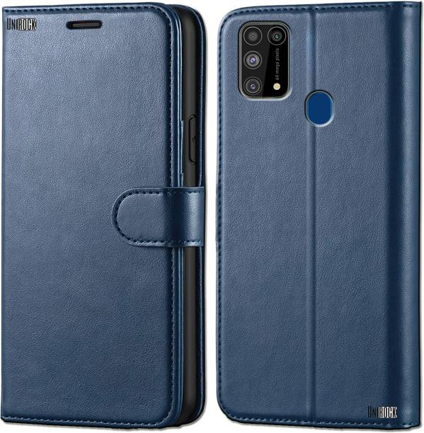 Unirock Wallet Case Cover for Samsung Galaxy M31