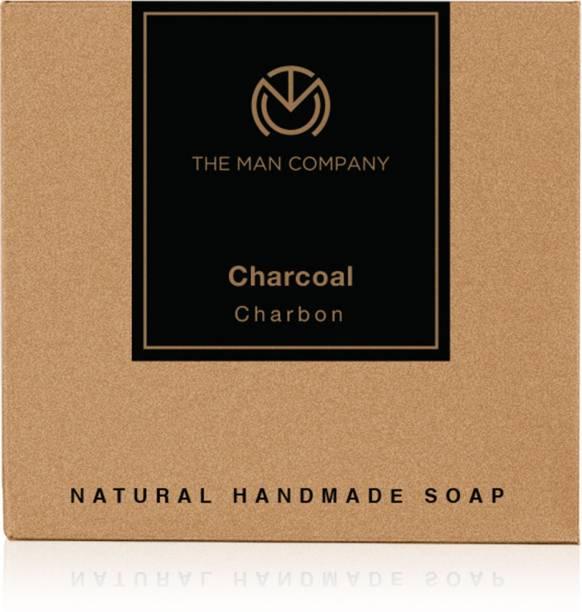 THE MAN COMPANY Charcoal Soap Bar Black 125g