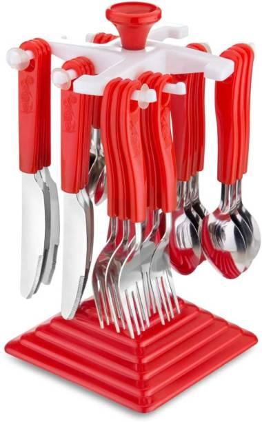 Shopixo Stainless Steel Cutlery Set Plastic Cutlery Set