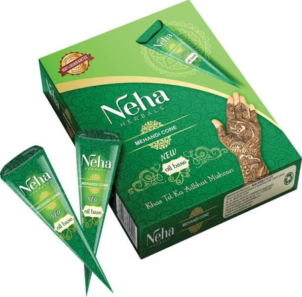 Neha Herbals Neha Mehandi Cone Natural Mehendi