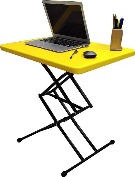 KRIJEN SIzzie Height Adjustable Plastic Study Table