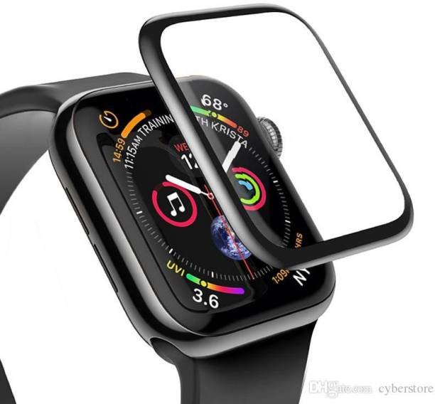 CallSmith Edge To Edge Tempered Glass for Apple Watch Series 6 5 4 and SE 40MM, PMMA Matte Membrane Glass for iwatch40MM