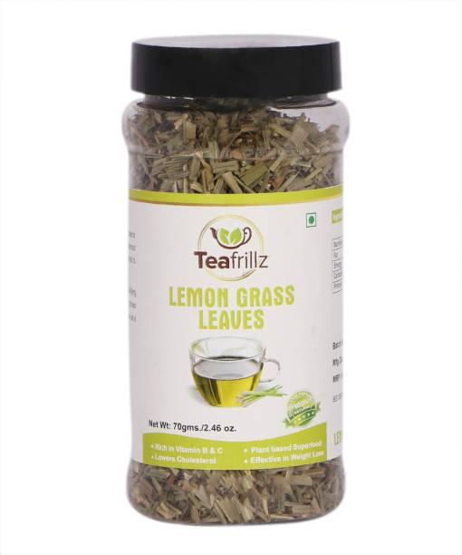 Teafrillz Lemon Grass (Natural, Dried & Organic), 70 g