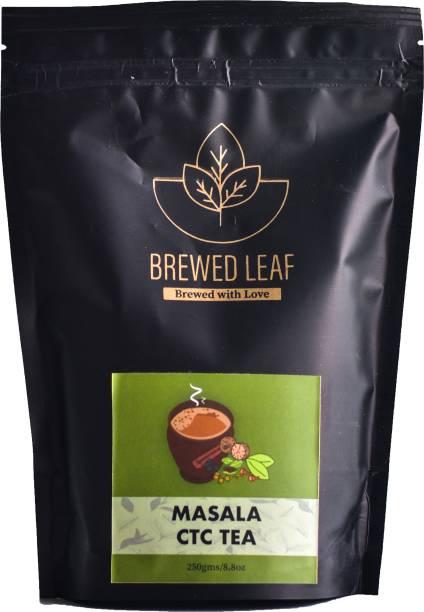 brewed leaf 7SPICE MASALA CTC Spices Masala Tea Pouch