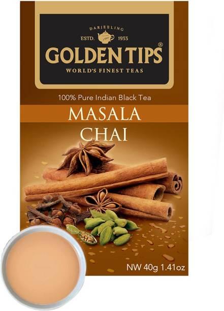 Golden Tips 100% Pure India Masala Chai Masala Tea Bags Box