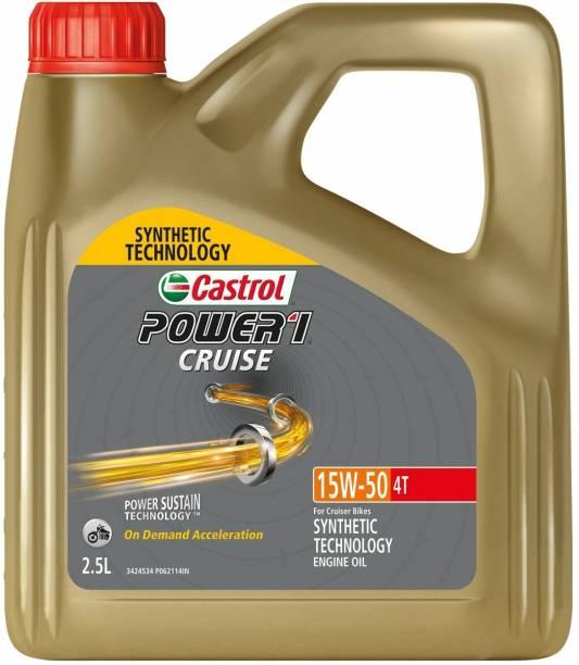 Castrol Power 1 POWER1 4T Full-Synthetic Engine Oil