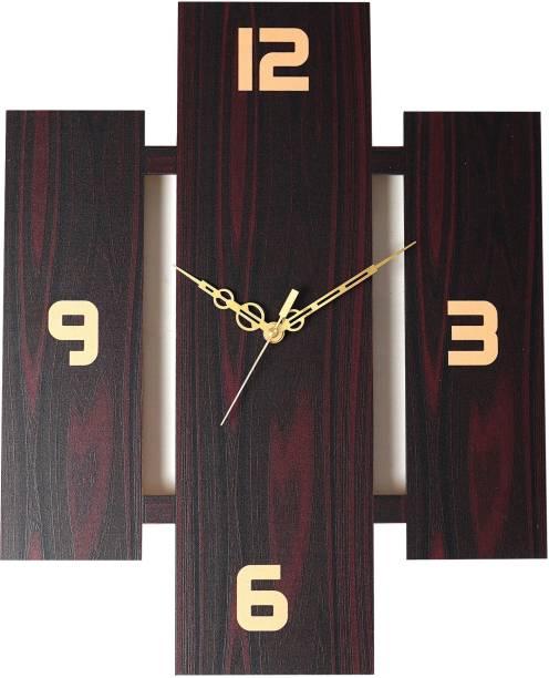 THE PRINT HUB Analog 38 cm X 30 cm Wall Clock