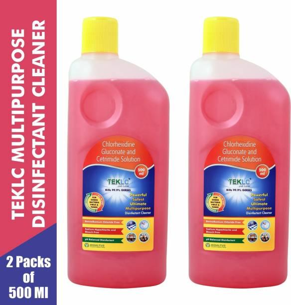 TEKLC Multipurpose Disinfectant Cleaner 500ml - Pack of 2