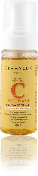 GLAMVEDA Vitamin C Brightening Foaming Face Wash