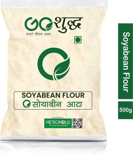 Goshudh Premium Quality Soyabean Atta (Soyabean Flour)-500gm