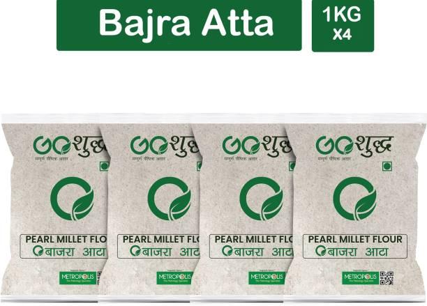 Goshudh Premium Quality Bajra Atta (Pearl Millet Flour)-1Kg