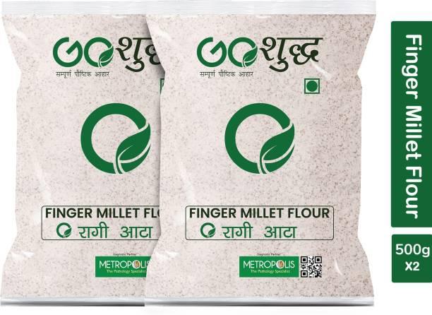 Goshudh Premium Quality Ragi Atta (Finger Millet Flour)-500gm