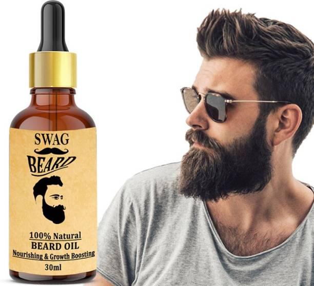 Swag Original Beard Growth Oil for Boys and Men (Choice of Real Men) Beard Growth Booster Hair Oil