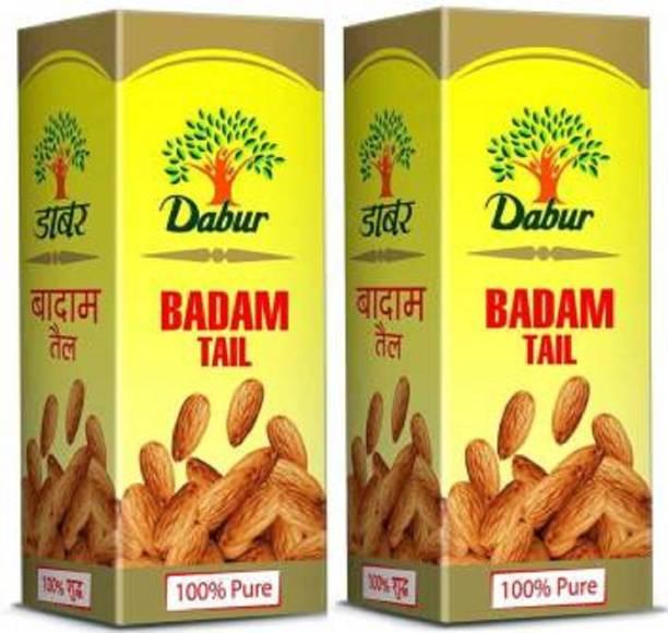 Dabur Badam Tail 100%pure50ml(Pack of 2) Hair Oil