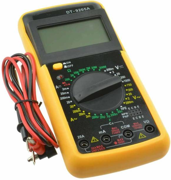 Zeom DT9205A Digital Multimeter Tyre Pressure Monitoring Systems with Digital/ Pictorial Display Digital Multimeter (Multicolor 2000 Counts) Digital Multimeter