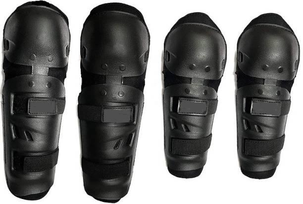JBRIDERZ Knee Guard, Elbow Guard XL Black