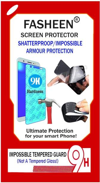 Fasheen Tempered Glass Guard for Alcatel OneTouch Scribe Easy 8000D