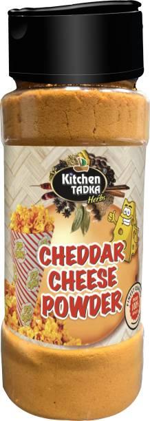 KITCHEN TADKA |Cheddar Cheese Powder|Popcorn|Nachos|Seasoning|Dry|