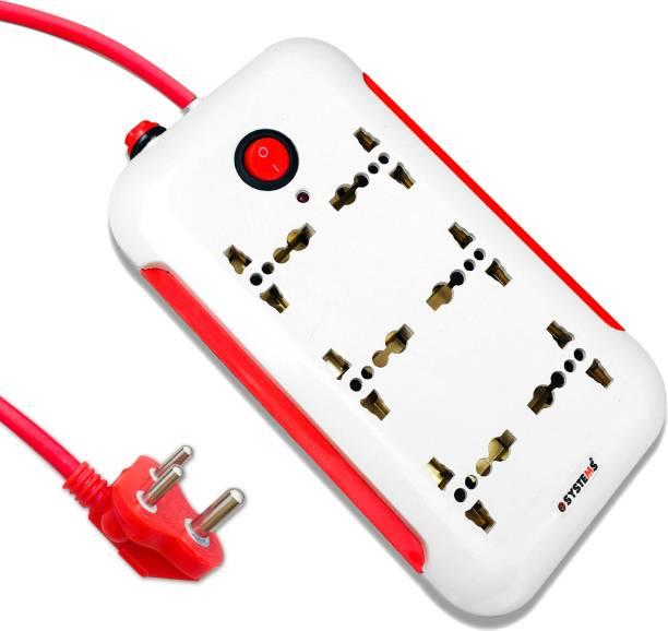 eSYSTEMS CRUZE 6 A Three Pin Socket