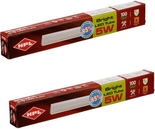 HPL BRIGHT LED Batten 5W CDL pack of 2 Straight Linear LED Tube Light