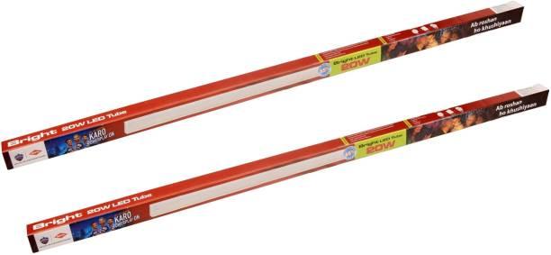 HPL BRIGHT LED Batten 20W CDL pack of 2 Straight Linear LED Tube Light
