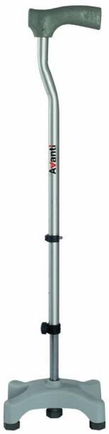Vissco L Shape Quadripod stick Walking Stick
