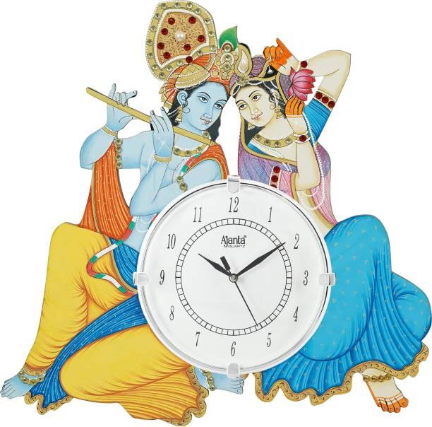 AJANTA Analog 33 cm X 33 cm Wall Clock